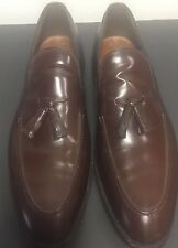 Allen Edmonds Brown Tassel Loafers Size 13