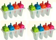16 X Kitchen Craft lamer n Sip icelolly Pop Palito Moldes Heladero Divertido