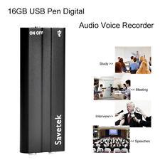 16 GB Clip de voz/sonido activado Micro Digital Espía Grabador de Audio Reproductor de MP3 Reino Unido