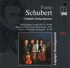 Leipziger Streichquartett: Franz Schubert (1797-1828) - Complete String Quartets