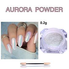 cc6fae158fe6 Chrome Powder Mirror Nail Art Glitter Pigment Rose Gold Pearl Silver Dust