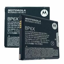 2x ORIGINAL MOTOROLA BP6X BATTERY FOR DROID 2 II GLOBAL XT720 A955 A855