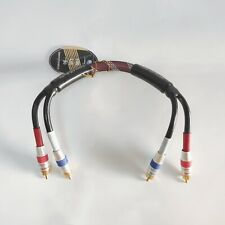 Choseal Q820 RCA Audio Cable Interconnect hifi Gold Plated OFC 0.4m Defective