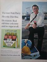 1966 Diet-Rite Sugar Free Cola Soda Carton Bottles Van Nuys CA Engineer Ad