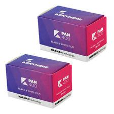 2x Kentmere (by Ilford) 400 36exp cheap Black & White  35mm Film