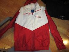 Martha's Vineyard windbreaker zip front jacket with hood hoodie XXL 2X