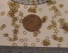 200 Vtg 3mm Jump Split O Rings 23 Gauge Gp Jewelry Findings Repair Craft Charm +