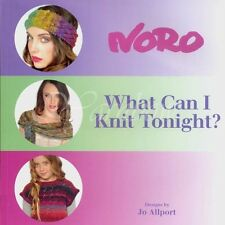 NORO ::What Can I Knit Tonight? By Jo Allport:: pattern book 30 designs Winter