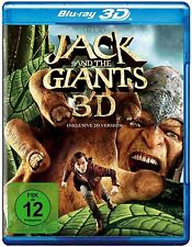 JACK AND THE GIANTS (Nicholas Hoult) Blu-ray 3D inkl. 2D-Version (NEU+OVP)