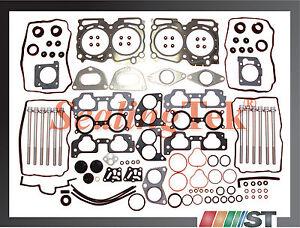 Fit 04-09 Subaru EJ25 SOHC Cylinder Head Gasket Set with Bolts Kit 2.5L engine