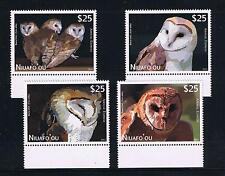 Niuafo'ou --- OWLS --- Air Post Special Delivery Single Stamps Set