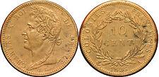 coloniale - 10 centimes Charles X 1825 A (émise pour la Guyane Senegal)