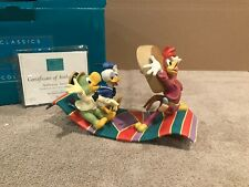 """Wdcc Jose Carioca, Donald Duck and Panchito """"Airborne Amigos"""" + Box/Coa"""