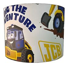 JCB Lampshades Ideal To Match JCB Wallpaper, JCB Duvet Covers & JCB Wall Murals.