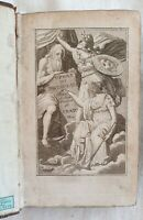 PIETRO METASTASIO OPERE 1814 CLEMENZA DI TITO ACRILLE CIRO TEMISTOCLE 4 PLANCHE