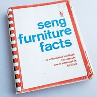 The Seng Handbook, Furniture Facts, 1971 22nd ed. home decor reference book