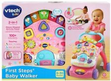 NEW First Steps Baby Walker Pink from Mr Toys