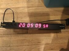 EVERTZ-TIME CODE/CLOCK -MODEL 1201DD