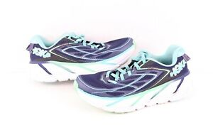 Hoka One One Womens Size 7 Clifton 3 Cushioned Neutral Running Jogging Shoes