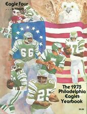 1975 PHILADELPHIA EAGLES Official Yearbook BILL BERGEY Free/Ship ROMAN GABRIEL