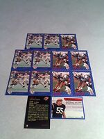 *****Ian Sinclair*****  Lot of 21 cards.....3 DIFFERENT / Football / CFL
