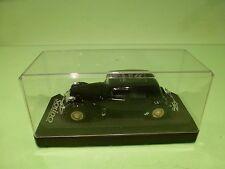 SOLIDO 4032 CITROEN 15CV TRACTION AVANT 1939 - 75 YEAR  - BLACK 1:43 - VG IN BOX