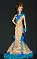 BEAUTIFUL OOAK BARBIE SILKSTONE  EVENING GOWN * NO DOLL*