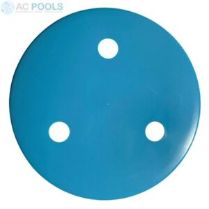 Pool Main Drain Cover (Blue) Weighted (FMD285) Hydrostatic Valve Cover
