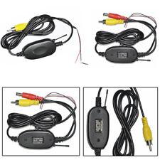 2.4G Receiver Transmitter Wireless Backup Camera Video Car Monitor Rear View Kit