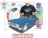 HG HOLDEN PREMIER 70-71 CLASSIC SED ILLUSTRATED T-SHIRT MUSCLE RETRO SPORTS