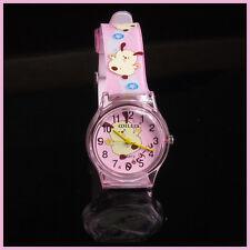 1 X  Cartoon Child Kid Analog Quartz Wrist Watch Girl FROM SYDNEY