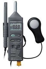 LAFAYETTE DT-8820 ENVIRONMENTAL METER THERMOMETER LUXMETER SOUND METER HUMIDITY