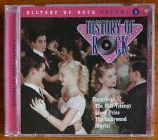 History of Rock Vol. 5 - CD - Turtles - Capitols - Box Tops - Nutmegs - Corsairs