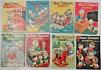 Walt Disney's Comics and Stories 81 125 130 139 141 190 -267 LOT of 29 Carl Bark