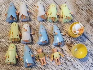 ÜEi Überraschungsei Spielzeug Steckfiguren Konvolut Geisterstunde 1993