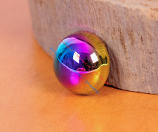 20PC Colorful Mushroom Dome Round Studs Rivets for Leathercraft Bag Shoes 12mm
