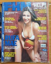 """FHM PHILIPPINES #35 (APRIL 2003) RUFA MAE QUINTO """"BOOBA"""" COVER"""