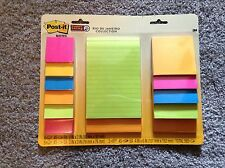 POST-IT Super Sticky Rio De Janeiro Collection,Assorted sizes and colors
