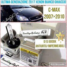 2 Lampadine XENON D1S FORD C MAX 07>10 fari BIXE HID 6000K RICAMBIO Luci Bianco
