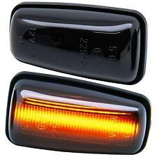 LED Indicators Black For Peugeot 106 II, 306, 406, 806, Partner I [7607-1]