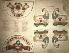 Country Classic Christmas Panel QUILT, SEW,  FABRIC