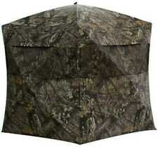 Rhino Blinds R150-MOC 3 Person Hunting Ground Blind - Mossy Oak