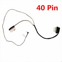 LCD LED LVDS Screen 40pin Cable for HP pavilion 15-ac123cy 15-ac124cy 15-ac123ds