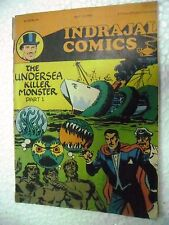 MANDRAKE UNDERSEA KILLER MONSTER1 VOL 25NO 14  INDRAJAL COMIC  ENGLISH  India