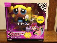 Powerpuff Girls Mojo Jojo's Lair with Bubbles Cartoon Network Trendmasters MISB