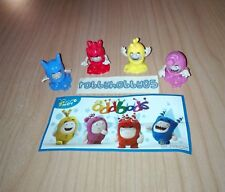 KINDER SURPRISE - ODDBODS COMPLETE SET OF 4 WITH ALL PAPERS - FERRERO 2017