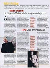 COUPURE DE PRESSE CLIPPING 2002 Marc Dorcel   (1 page)