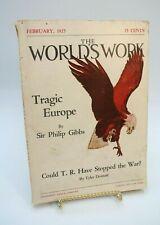 The World's Work Magazine February 1925