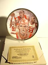Michael Jordan 1991 Sports Impressions Nba Collectors Plate Limited 1364/5000