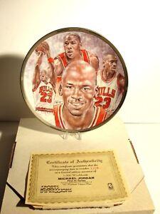 Michael Jordan 1991 Sports Impressions NBA Collectors Plate Limited 1364/5000